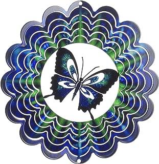 product image for Next Innovations EKMBFLYBL Blue Butterfly Kaleidescope Eycatcher, Medium