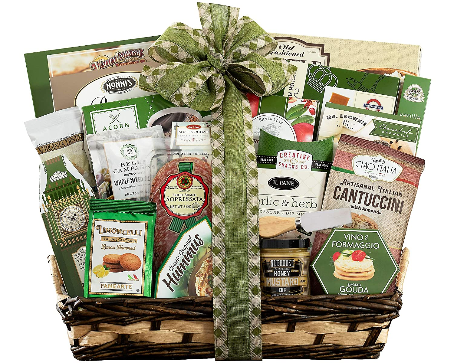 Sympathy Gift Basket- With Our Sincere Condolences Sympathy Gift Basket by Wine Country Gift Baskets