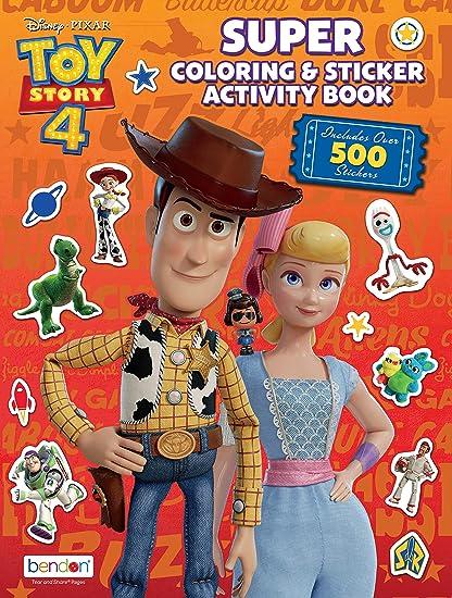 Amazon.com: Disney Toy Story 4 Official Giant Sticker ...