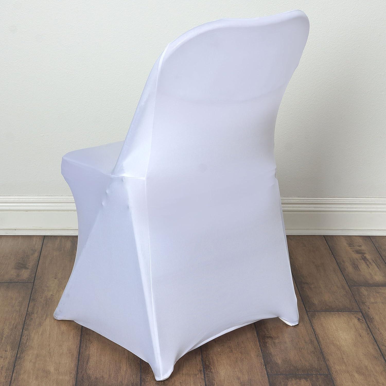 Amazon 10 pcs Spandex Folding CHAIR COVERS Wedding Supplies