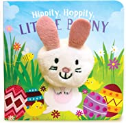 Hippity, Hoppity, Little Bunny (Finger Puppet Book)