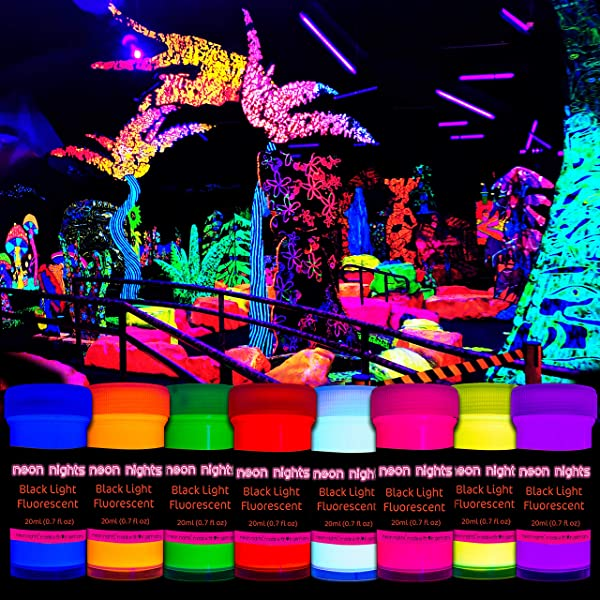 how long does glow in the dark paint last