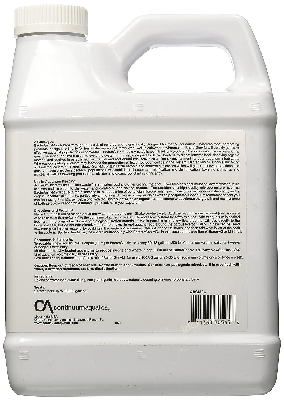 Fine Continuum Aquatics Bacter Gen-m 2-liter Marine Microbe Culture Pet Supplies