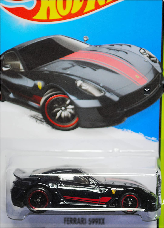 Hot Wheels 2015 Thrill Racers Ferrari 599xx Super Treasure Hunt Spectraflame Black Card 188 250 Everything Else Amazon Com