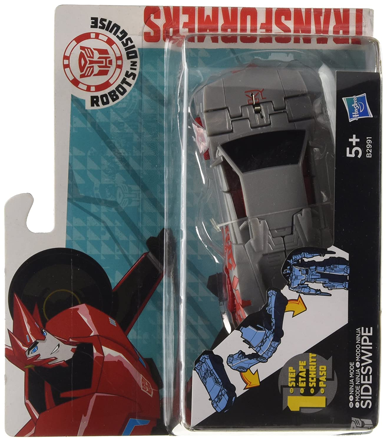 Transformers Robots in Disguise 1-Step Changers Ninja Blade ...