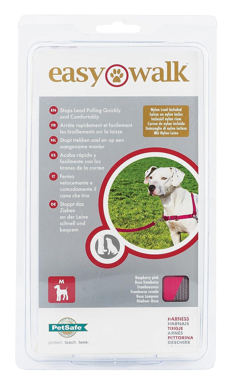 einfaches An-und Ausziehen kein Ziehen Petsafe Easy Walk Hundegeschirr hoher Tragekomfort inklusive 1,8 m Leine