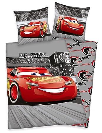 Herding Disney Cars Bettwäsche Biber Flanell  135 x 200cm