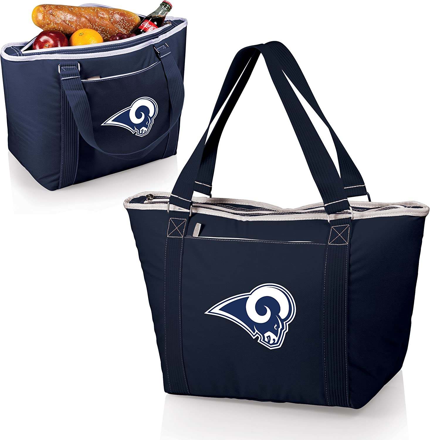 PICNIC TIME NFL LA Rams Topanga Insulated Cooler Tote Navy