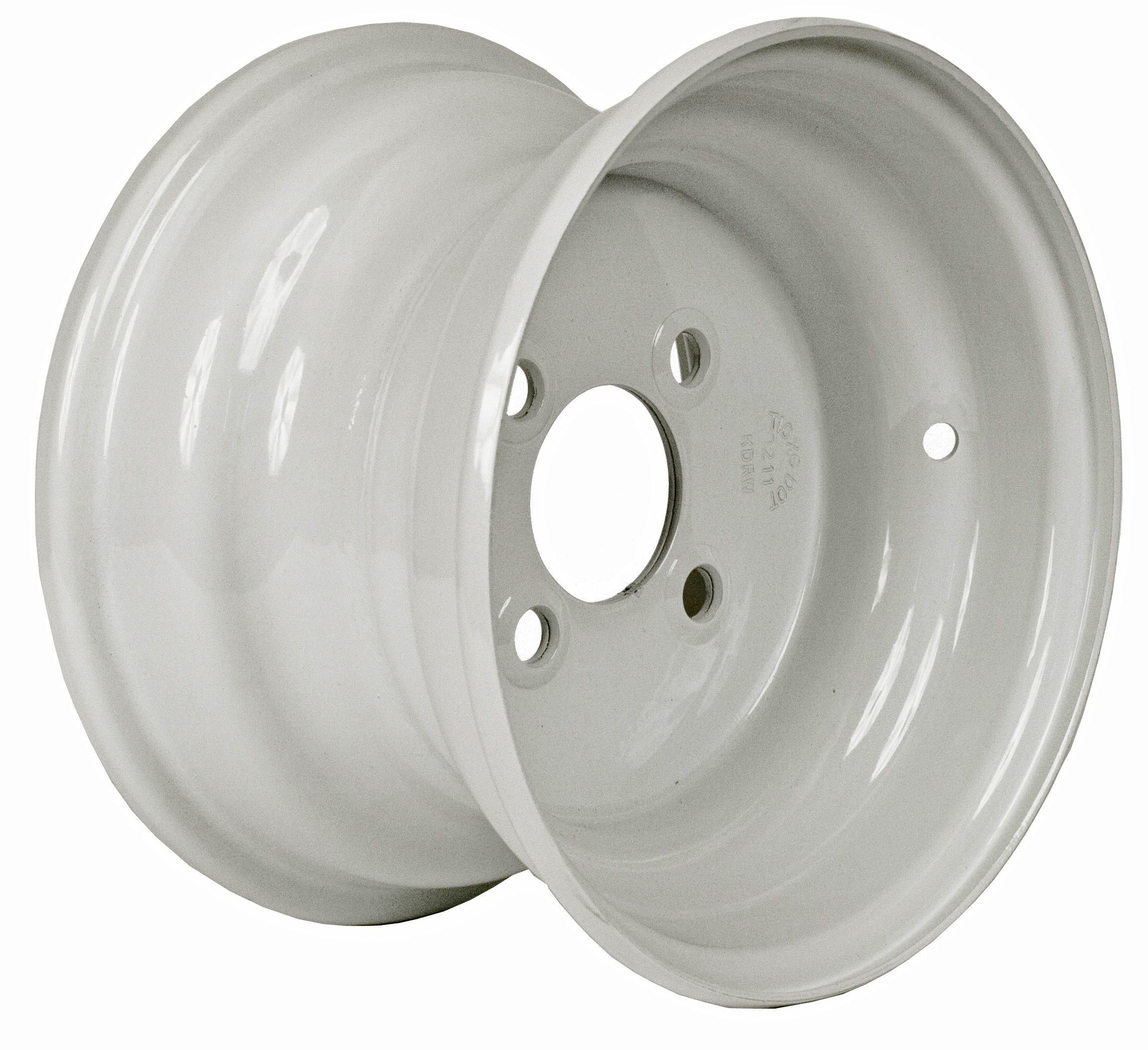 Martin Wheel 4-Hole Steel Trailer Wheel (10x6'' / 4x4'')