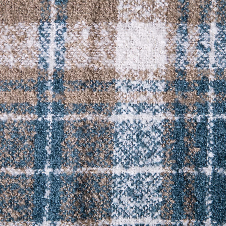 Womens Winter Plaid Infinity Scarf Warm Tassel Circle Loop Scarves /& Knit Fall Scarfs for Women