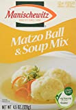 MANISCHEWITZ Matzo Ball & Soup Mix, 4.5-Ounce Boxes