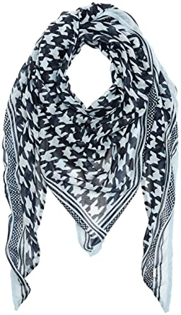 a3dade8b1861 TOM TAILOR Women s Printed Triangle Scarf (Real Navy Blue 6593), One Size