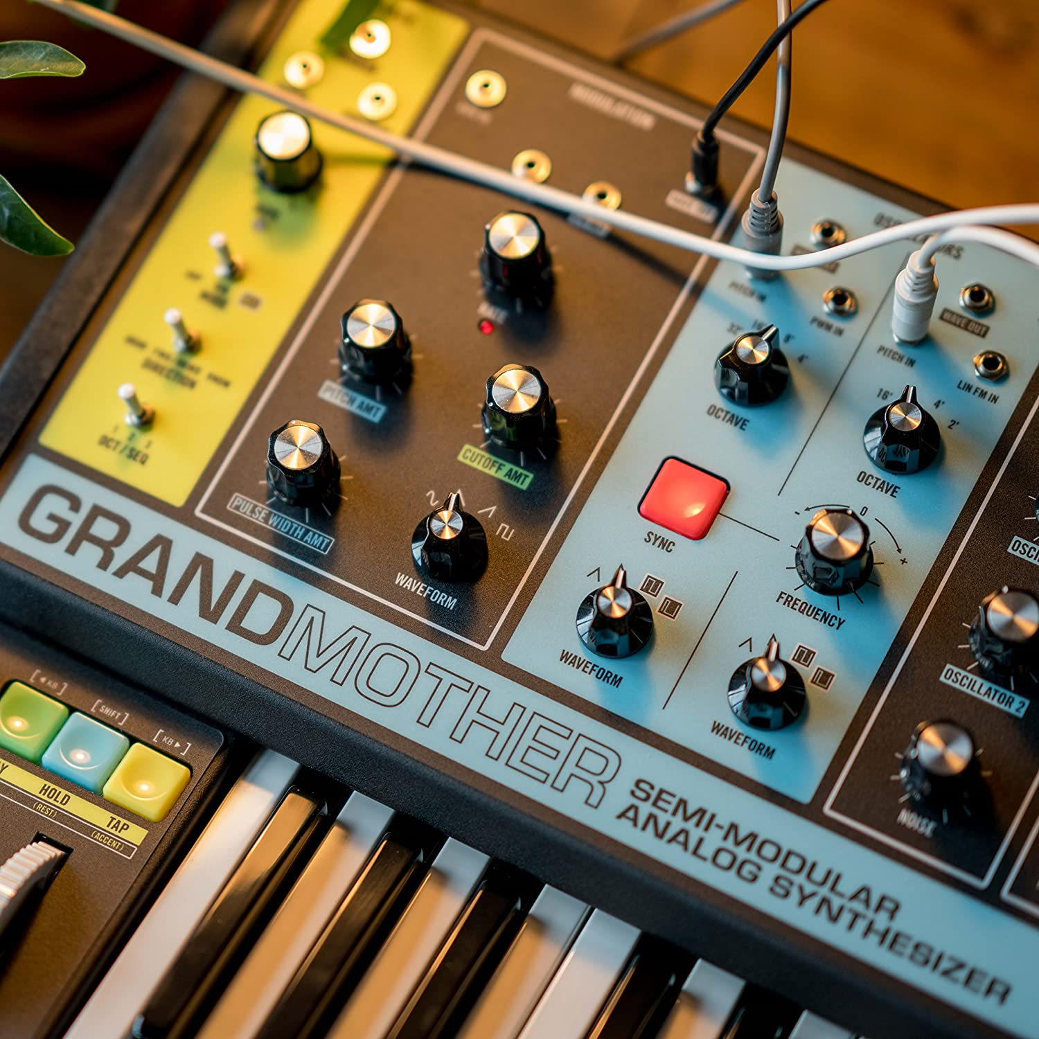 Moog Grandmother Semi Modular Analog Keyboard Frequency Synthesizer Musical Instruments
