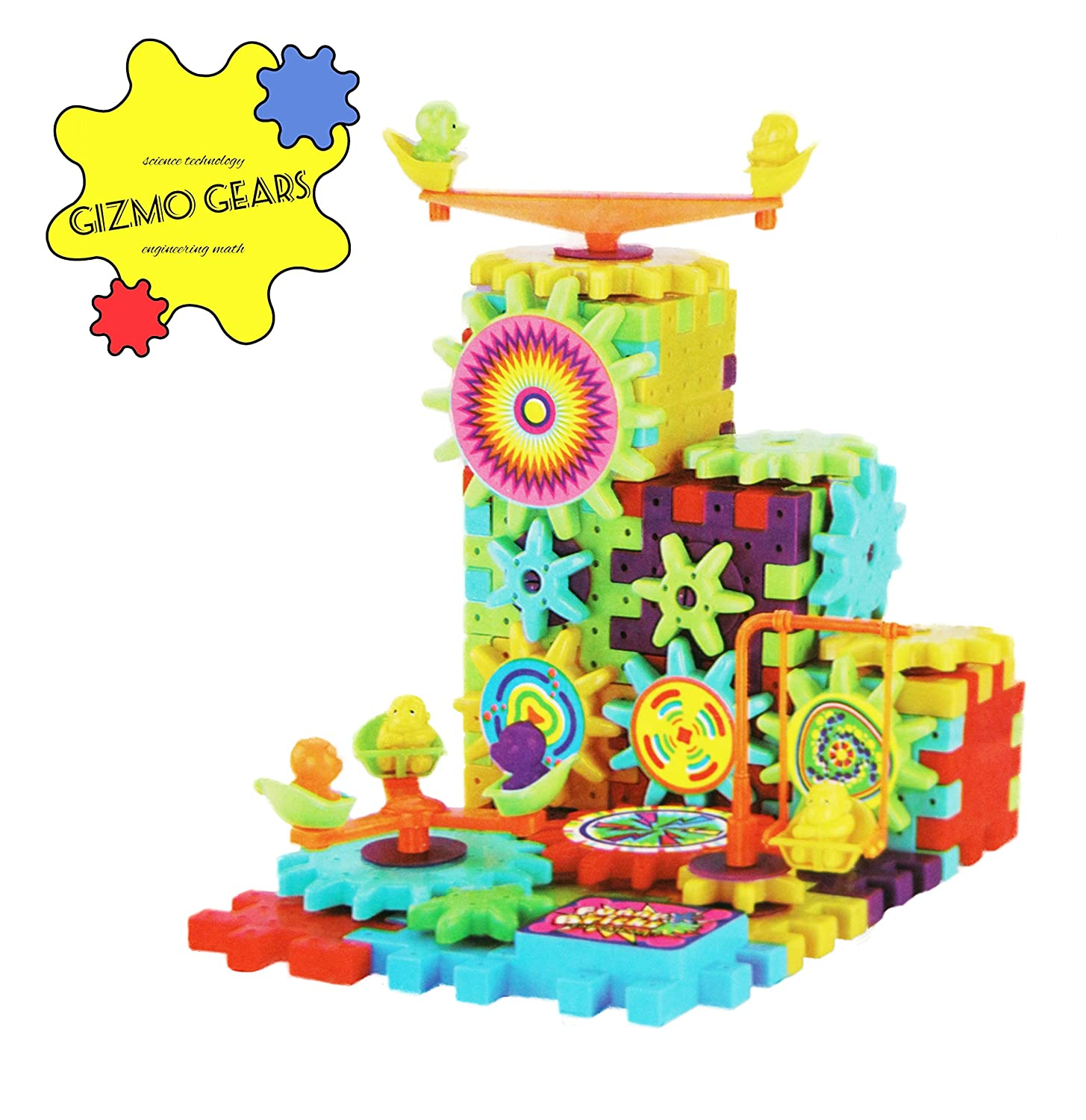 Amazon Educational Toy Gear Set Fine Motor Skills Toys