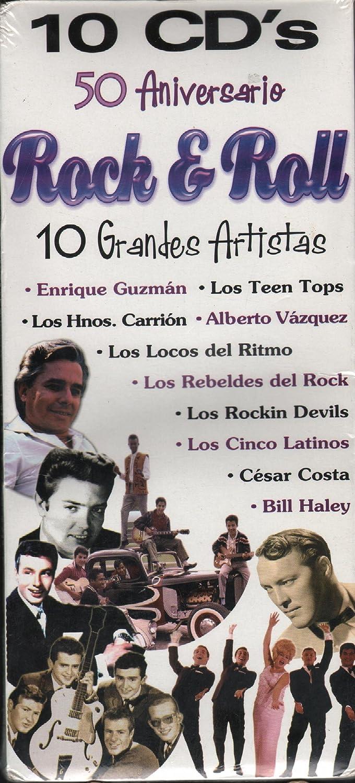 ENRIQUE GUZMAN, LOS REBELDES DEL ROCK, BILL HALEY, CESAR COSTA, LOS CINCO LATINOS, LOS TEEN TOPS, LOS HNOS.CARRION, LOS LOCOS DEL RITMO, ALBERTO VAZQUEZ, ...