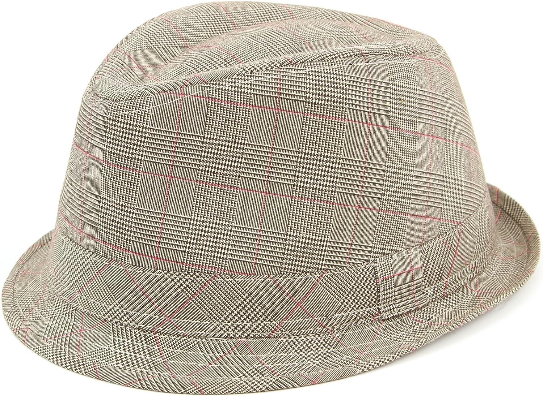 Hawkins Simple Cotton Tweed Trilby hat