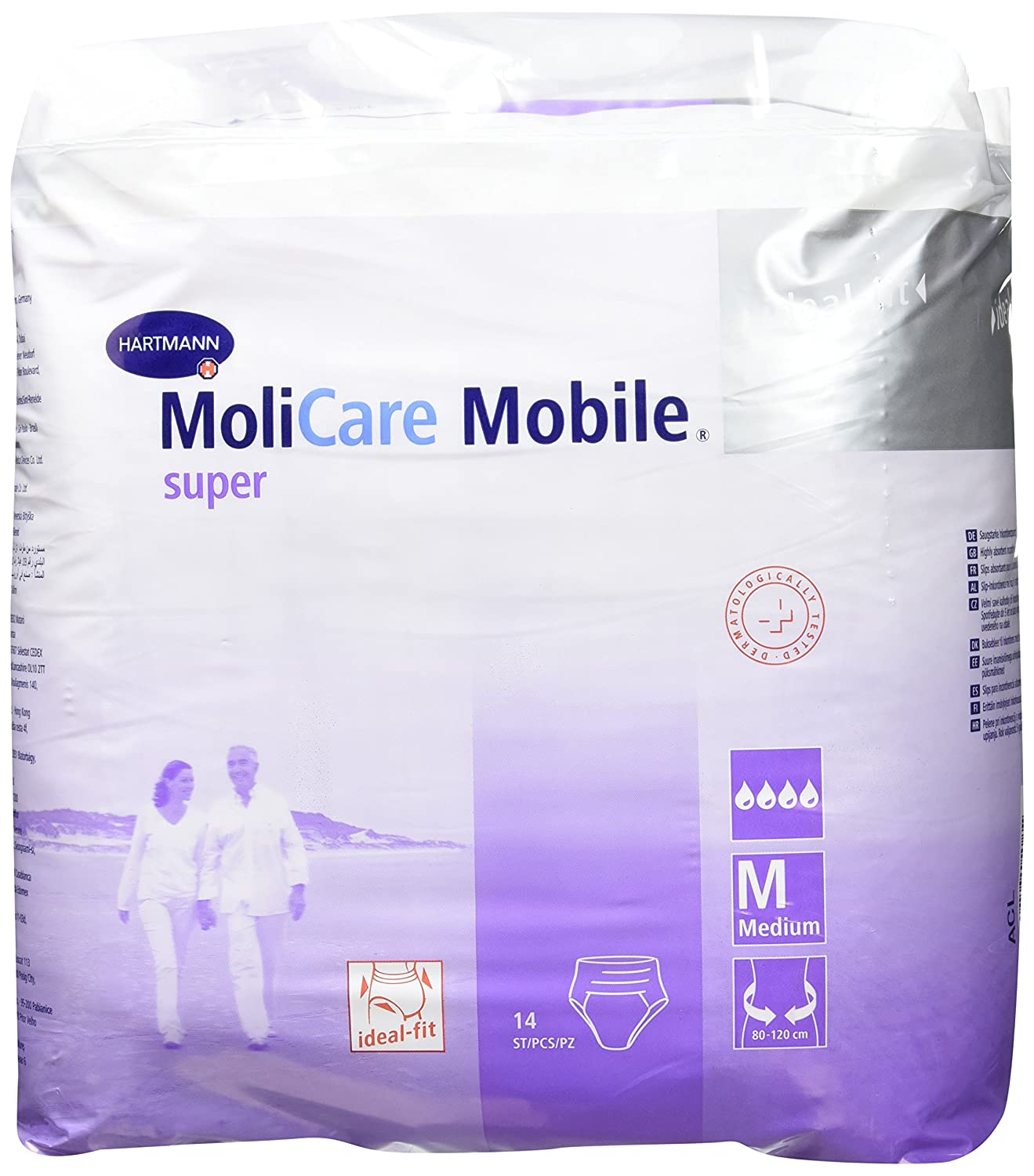 Hartmann 915882 Molicare Mobile Super Pull Up Pant 80 Cm 120 Celana Dalam Gt Man Extra Large Size Medium Pack Of 14 Welcome