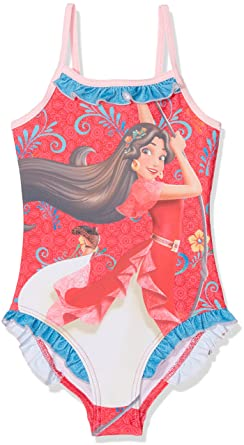 d92c7b004ac26 Clothing, Shoes & Jewelry Toddler Girls Disney Elena Of Avalor 1 Piece  Swimsuit