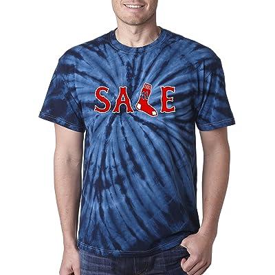 "Silo Shirts TIE DIE Chris Sale Boston ""SALE"" T-Shirt"