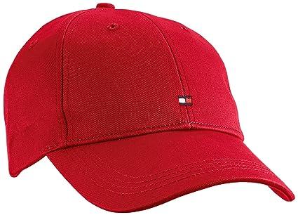 Tommy Hilfiger Classic BB Cap, Gorra de béisbol para Hombre, Rot (Barbados Cherry-PT 619), única: Amazon.es: Ropa y accesorios