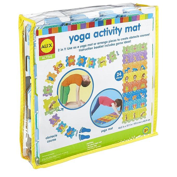 Amazon.com: Alex Active Yoga - Esterilla de ejercicio para ...