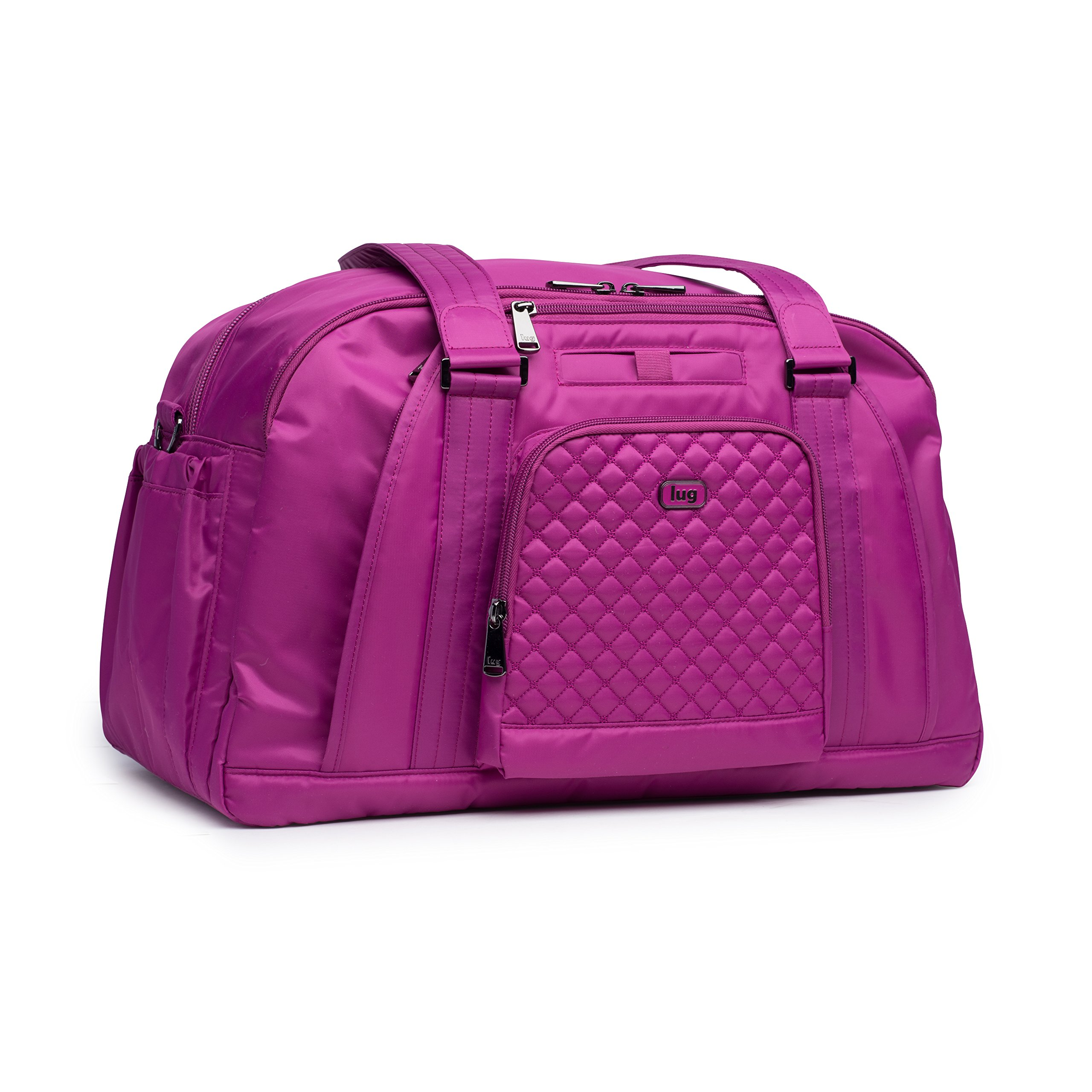 Lug Propeller Gym/Overnight Bag, Orchid Pink