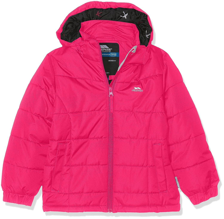Trespass Childrens Girls Tiffy Padded Jacket Raspberry 3//4 Years