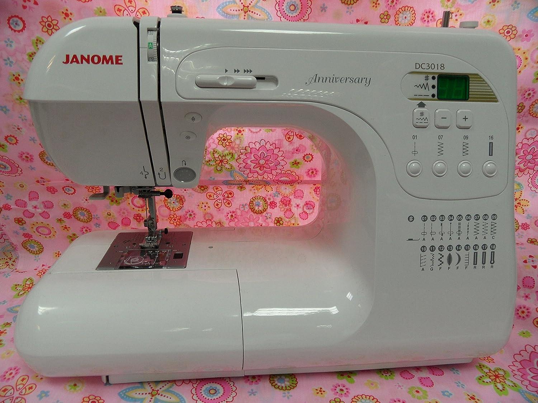 Máquina de coser Janome DC 3018 ordenador: Amazon.es: Hogar