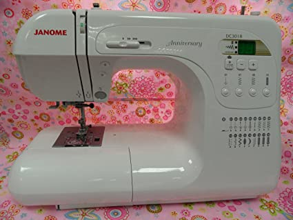 Máquina de coser Janome DC 3018 ordenador