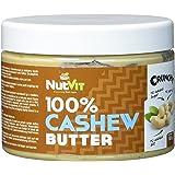 NutVit 100% Cashew Butter Crunchy, 1er Pack (1 x 500 ml)