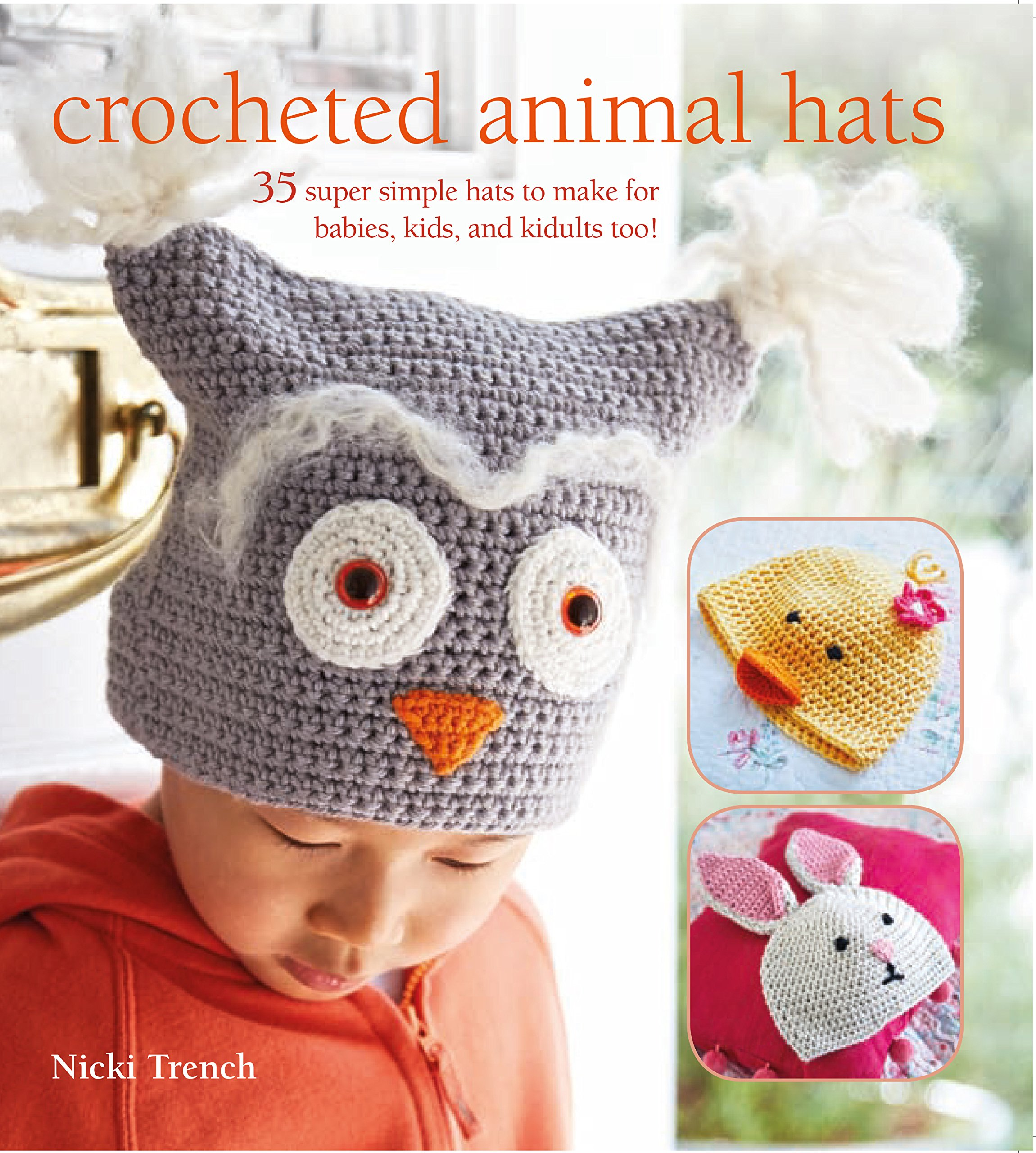 d82176118a3 Crocheted Animal Hats  35 super simple hats to make for babies