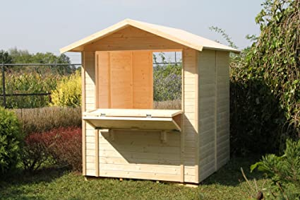 Gartenpro – Caseta pequeña 170 x 175: Amazon.es: Jardín
