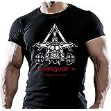 Arubas-uk - T-shirt - Homme Noir Noir