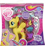 My Little Pony Styling Strands Fashion Pony Fluttershy Figure, 6-Inch