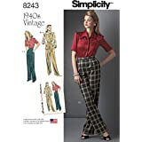 Simplicity Creative Patterns US8243H5 8243 Simplicity Pattern 8243 Misses' Vintage 1940'S Sportswear Pattern,,Size: H5 (6-8-10-12-14)