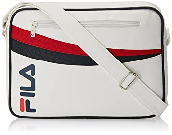 a7ac65d3ab Fila Synthetic White Messenger Bag (13000849): Amazon.in: Bags ...