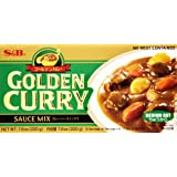 S&B Golden Curry Sauce Mix Medium Hot, 220g