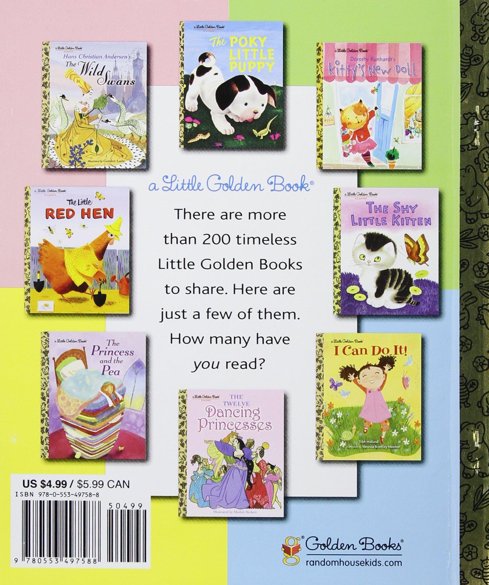 (Little Golden Book) (9780553497588): Sue Fliess, Joey Chou: Books