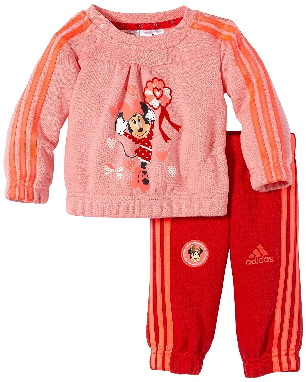 adidas Jogger Set Minnie - Chándal, Color Rosa, Talla 3 años (98 ...