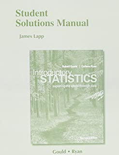 Amazon introductory statistics 2nd edition 9780321978271 student solutions manual for introductory statistics exploring the world through data fandeluxe Image collections