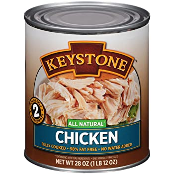 Keystone Meats All Natural Canned Chicken, 28 oz.