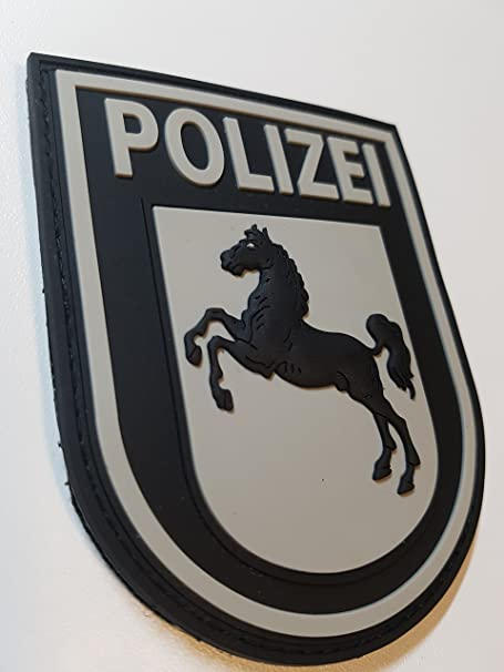 Atg Ärmelabzeichen Polizei Niedersachsen 3 D Rubber Patch Farbig Blackops Auto