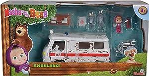 Masha & The Bear Masha Playset – Ambulance Ages 3+