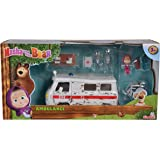Playset Ambulancia de Masha y el Oso con 3 figuras y accesorios (Simba 9309863)