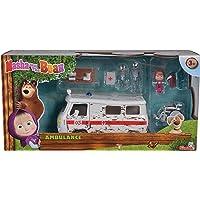 Simba Dickie 109309863 Masha Play Set Ambulance