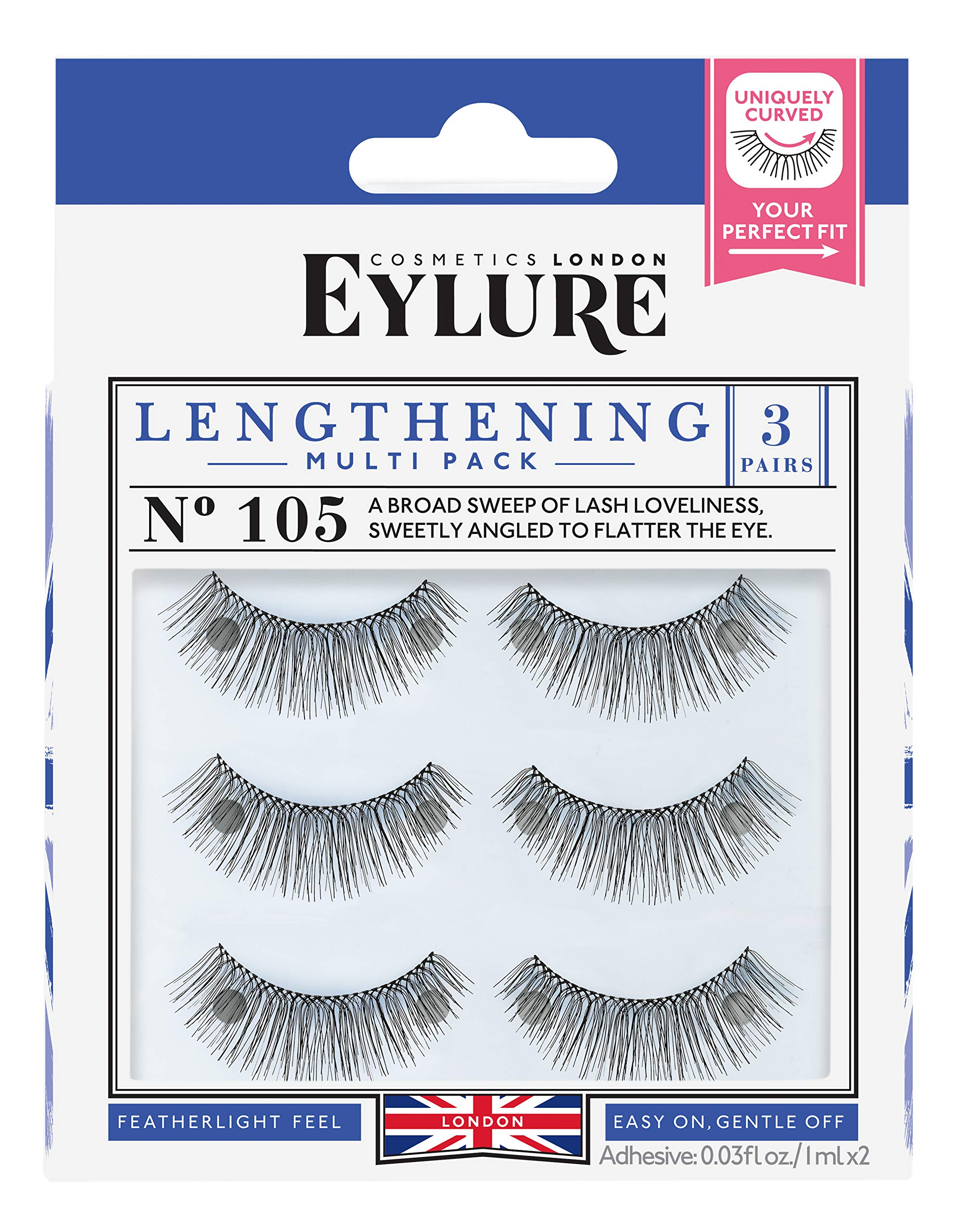 e69d77eee63 Amazon.com : Eylure Lengthening False Eyelashes Multipack, Style No ...
