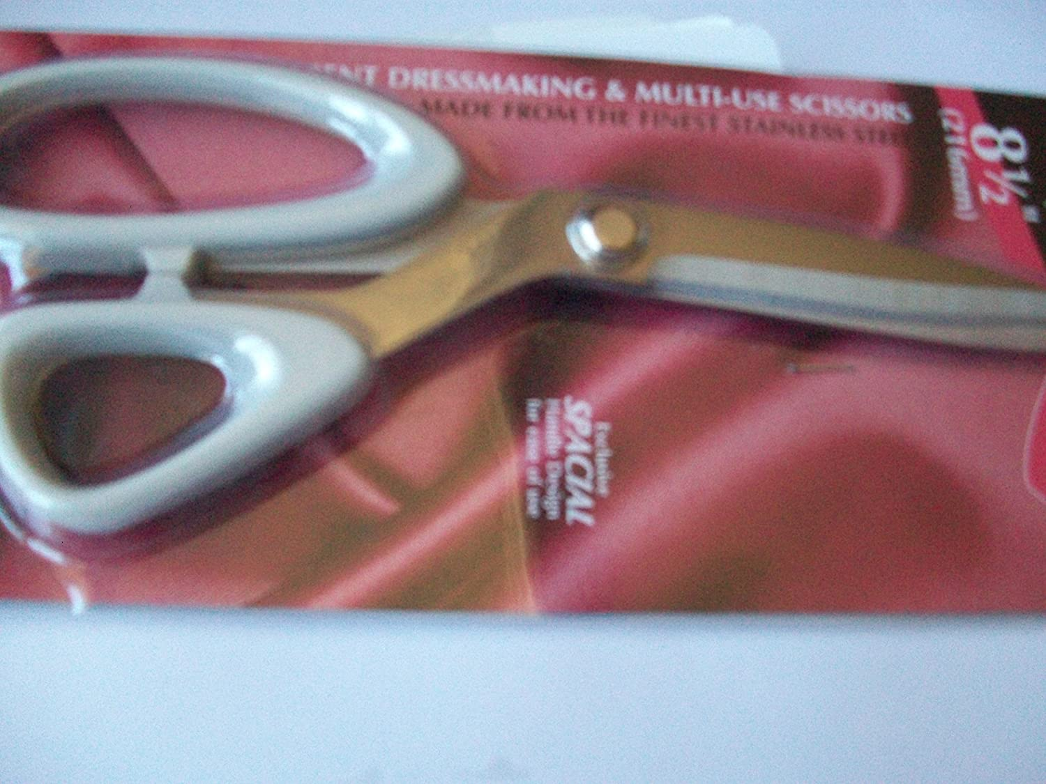 Left-Handed Sidebend Dressmaking Sewing Quilting Janome MultiUse Scissors XIS31L