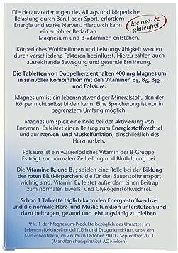 Doppelherz Magnesium 400b1b6b12folsäure Tabletten 2er Pack 2 X 381 G