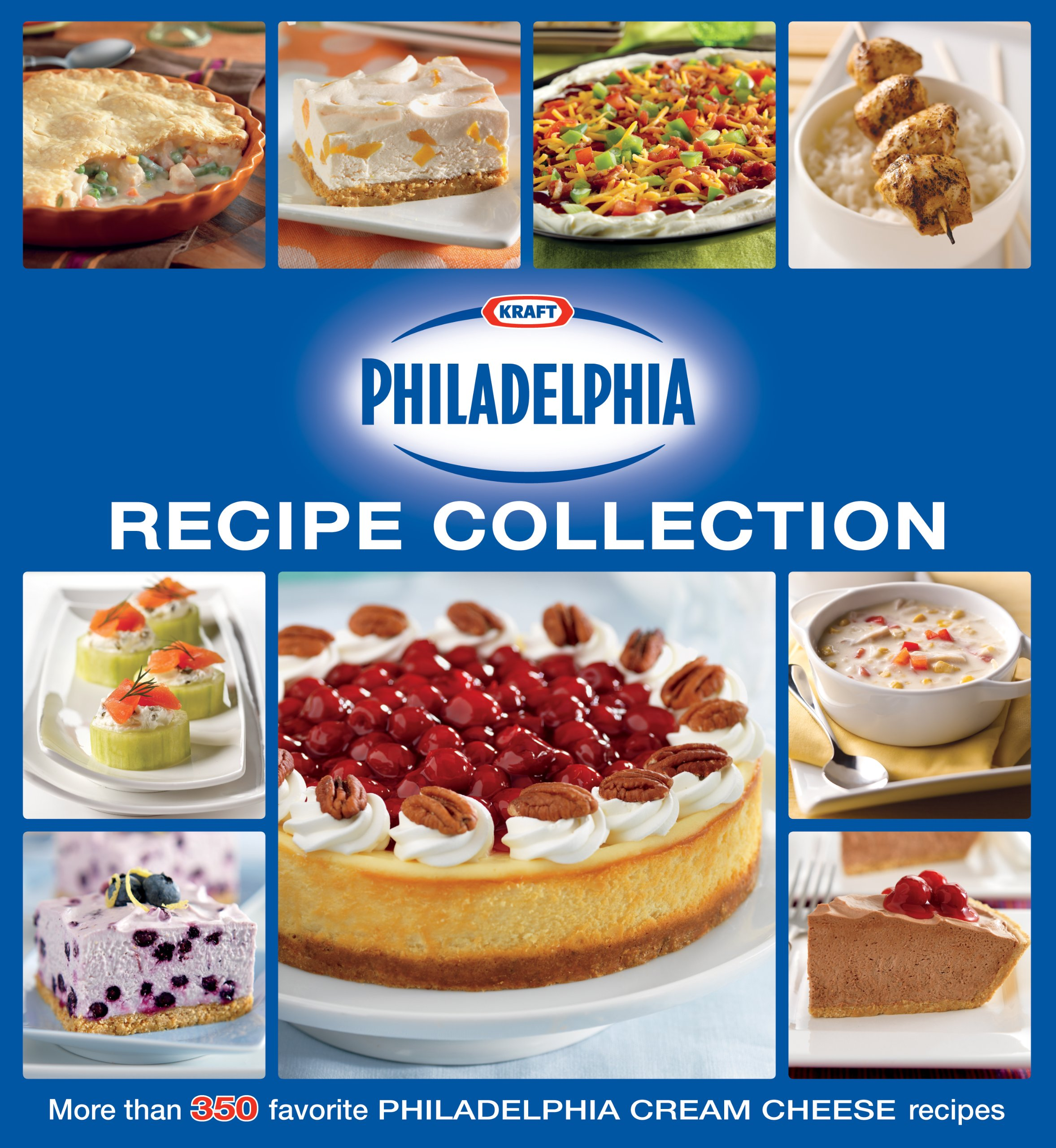 Kraft philadelphia ultimate recipe collection editors of favorite kraft philadelphia ultimate recipe collection editors of favorite brand name recipes 9781450814003 amazon books forumfinder Gallery