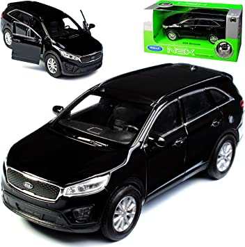 Welly Kia Sorento Um Schwarz 3 Generation Ab 2014 Ca 1 43 1 36 1 46 Modell Auto Spielzeug
